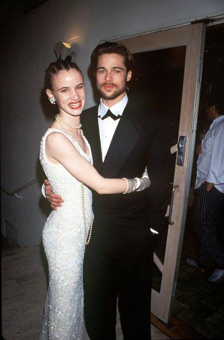 BRAD PITT AND JULIETTE LEWIS AT THE OSCARS, LOS ANGELES, AMERICA - MAR 1992VARIOUS STARS, AMERICA - MAR 1992