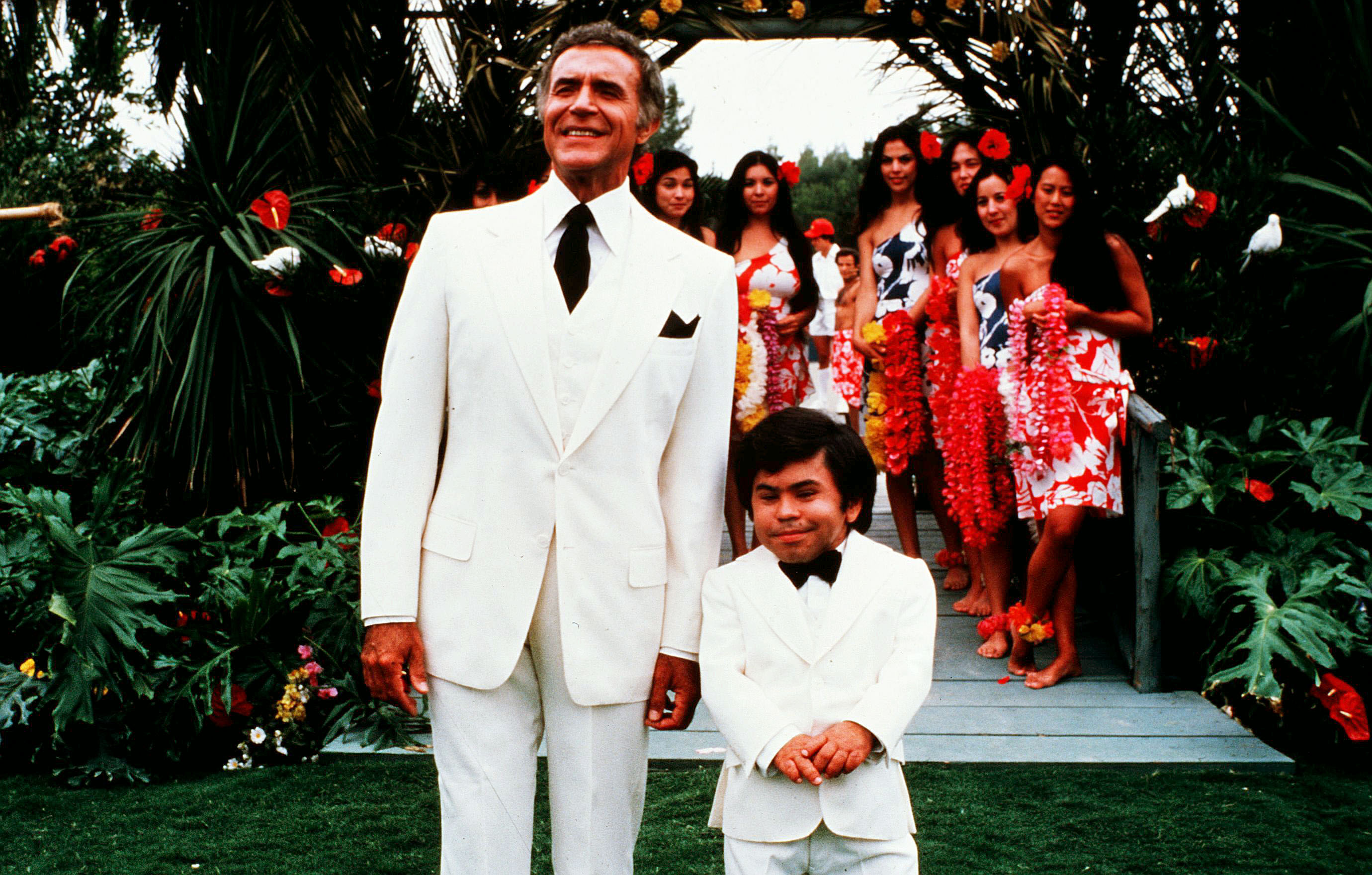 Editorial use only. No book cover usage.Mandatory Credit: Photo by Abc-Tv/Kobal/Shutterstock (5865320b) Ricardo Montalban, Herve Villechaize Fantasy Island ABC-TV USA Television