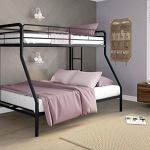 Best Bunk Beds for Kids: DHP Twin-Over-Full Bunk Bed