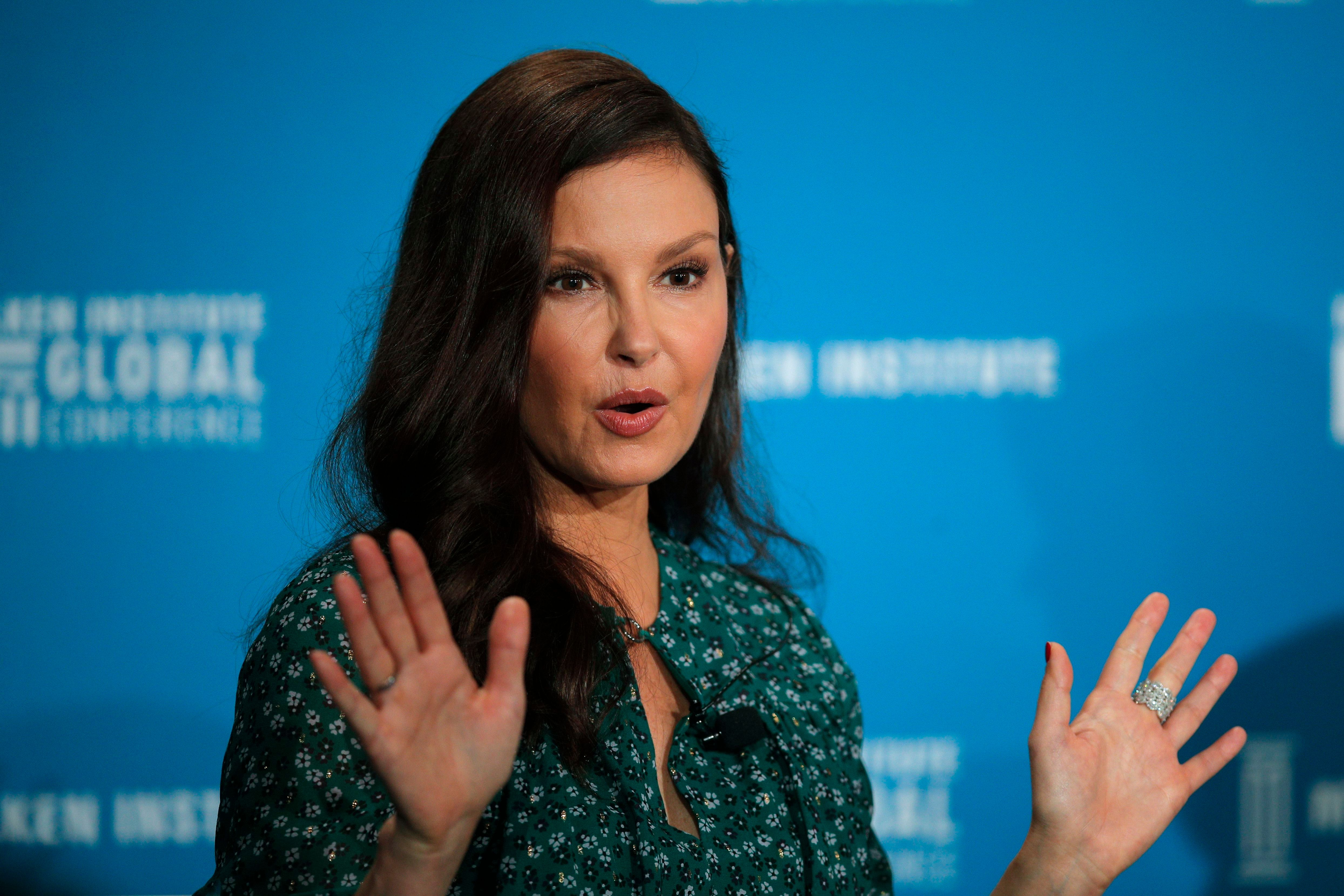 Actress Ashley Judd speaks during a discussion on feminism at the Milken Institute Global Conference, in Beverly Hills, CalifMilken Institute Global Conference, Beverly Hills, USA - 30 Apr 2018