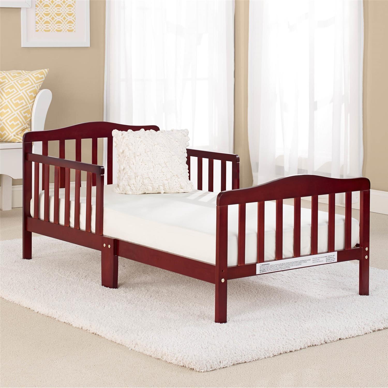 Big Oshi Contemporary Wood Frame Toddler & Kids Bed