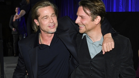 Brad Pitt and Bradley Cooper at