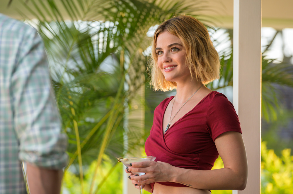 Lucy Hale in Columbia Pictures' BLUMHOUSE'S FANTASY ISLAND.
