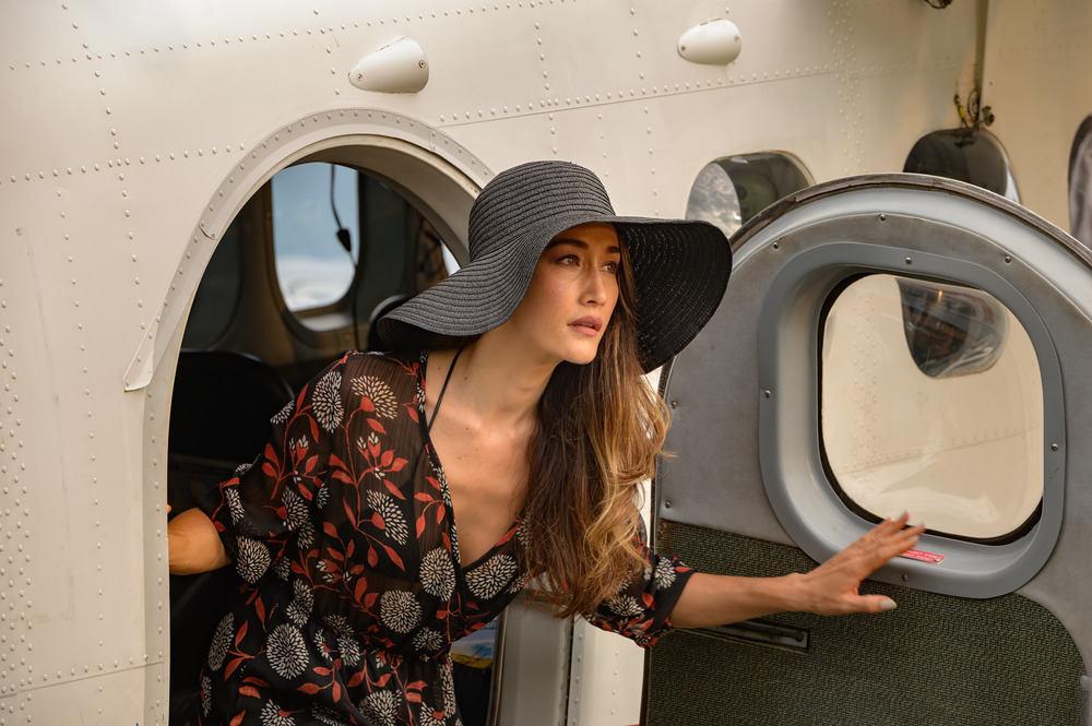 Maggie Q in Columbia Pictures' BLUMHOUSE'S FANTASY ISLAND.