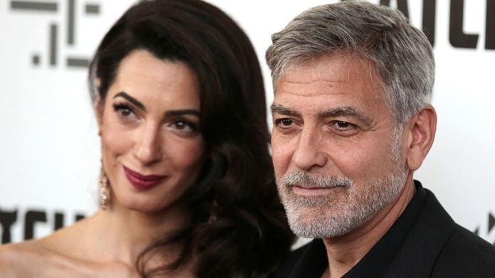 Amal Clooney and George Clooney'Catch-22' TV