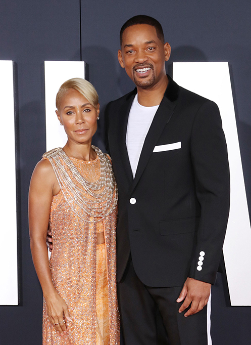 'Gemini Man' film premiere, Arrivals, TCL Chinese Theatre, Los Angeles, USA - 06 Oct 2019 Jada Pinkett Smith and Will Smith