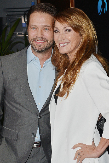 Jason Priestley and Jane Seymour at the Monte-Carlo Television Festival party, Los Angeles, USA - 05 Feb 2020