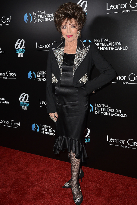 Joan Collins at Monte-Carlo Television Festival party, Los Angeles USA - 05 Feb 2020