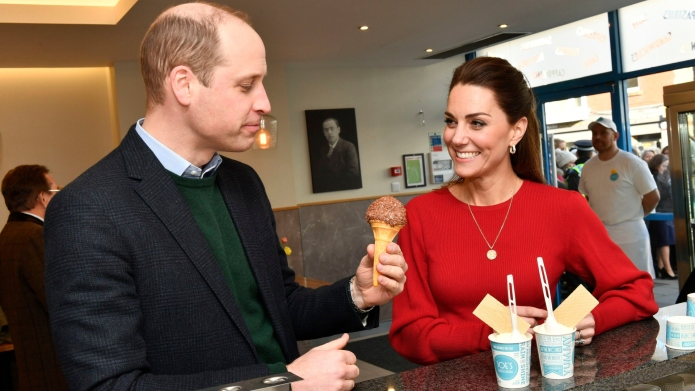 Kate Middleton Prince William Joe's Ice