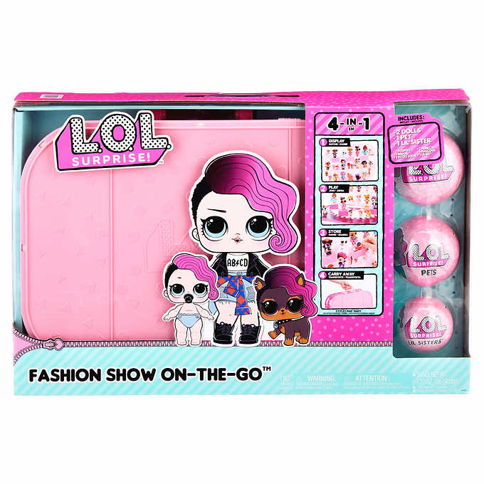 Best Toys From Costco L.O.L. Surprise Fashion Show On-the-Go