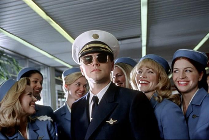 Leonardo DiCaprio, Lidia Sabljic, Karrie MacLaine, Hilary Rose Zalman, Catch Me If You Can, 2002