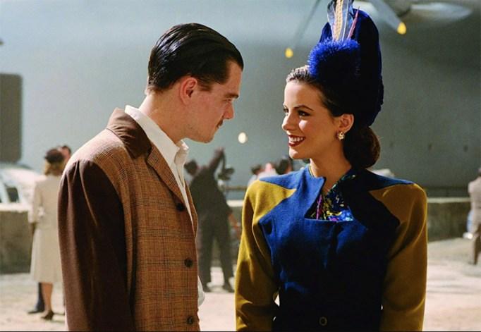 Leonardo DiCaprio and Kate Beckinsale in The Aviator, 2004