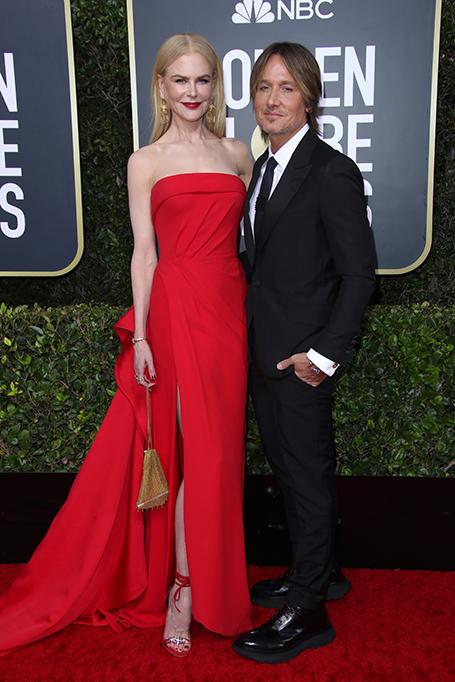 77th Annual Golden Globe Awards, Arrivals, Los Angeles, USA - 05 Jan 2020 Nicole Kidman and Keith Urban