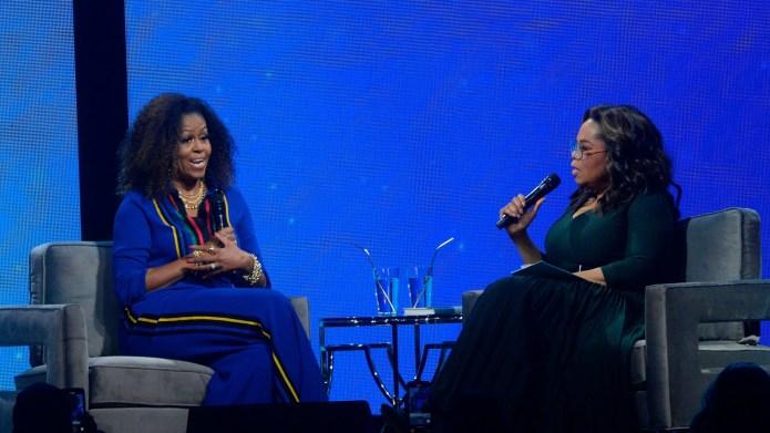 Oprah Winfrey, Michelle Obama. Michelle Obama,