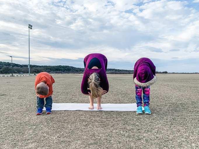 Best Yoga Poses for Kids: Rag Doll