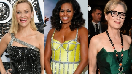 Michelle Obama, Reese Witherspoon, Meryl Streep