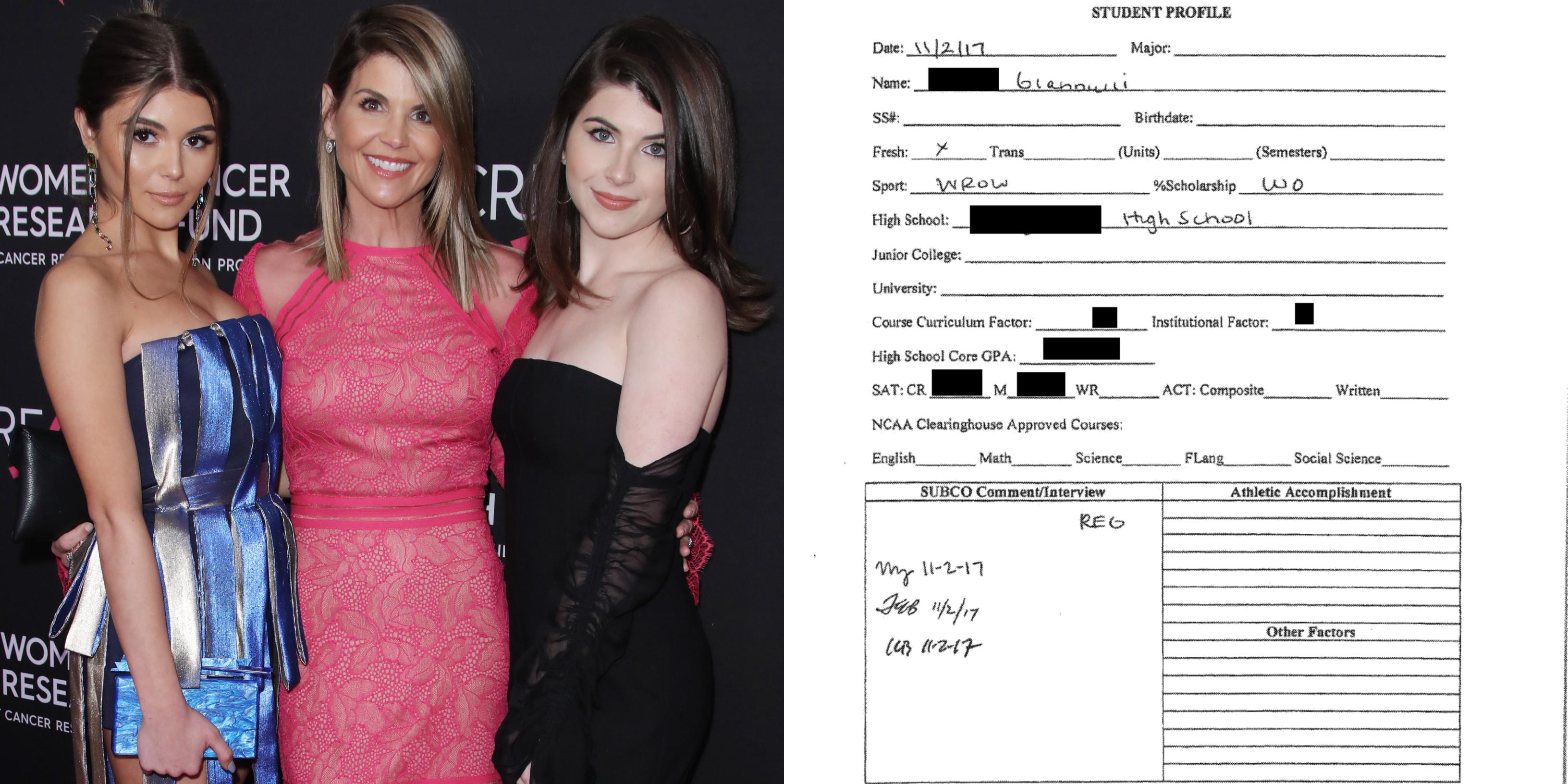 Lori Loughlin's Daughter's Fake Resume Released in College Scandal