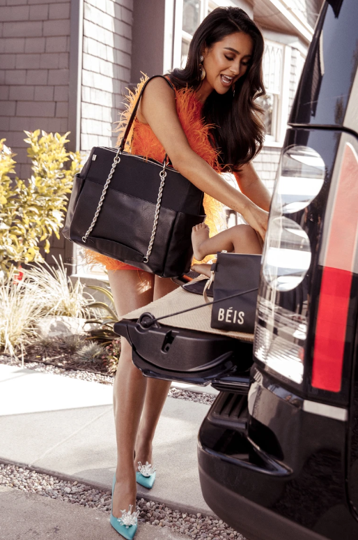 Shay Mitchell BEIS diaper bag
