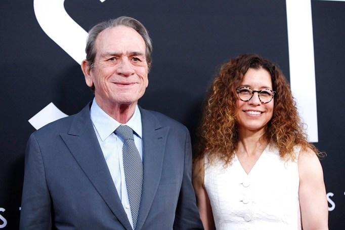 'Ad Astra' film premiere, Arrivals, Cinerama Dome, Los Angeles, USA - 18 Sept 2019 Tommy Lee Jones and Dawn Laurel-Jones