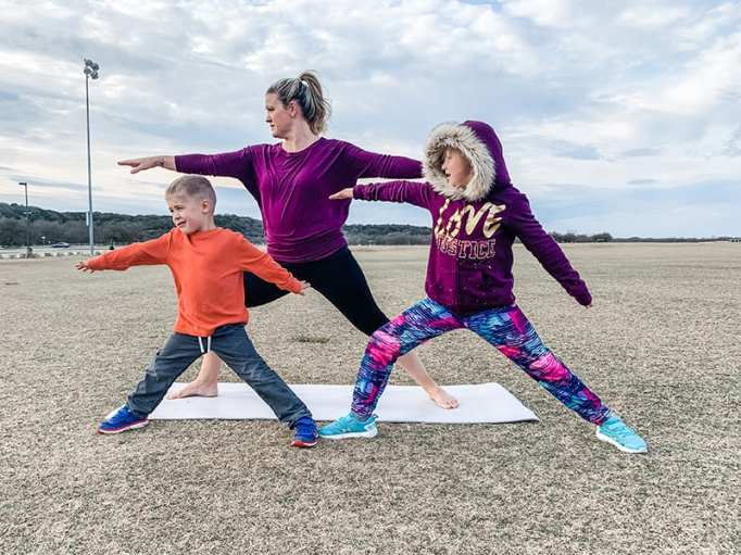 Best Yoga Poses for Kids: Warrior Two
