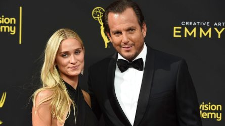 Will Arnett & Alessandra Brawn —  Plus
