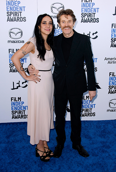 35th Annual Film Independent Spirit Awards, Arrivals, Los Angeles, USA - 08 Feb 2020 Giada Colagrande and Willem Dafoe