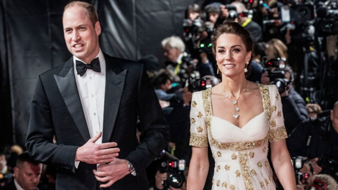 Prince William & Kate Middleton Mingled