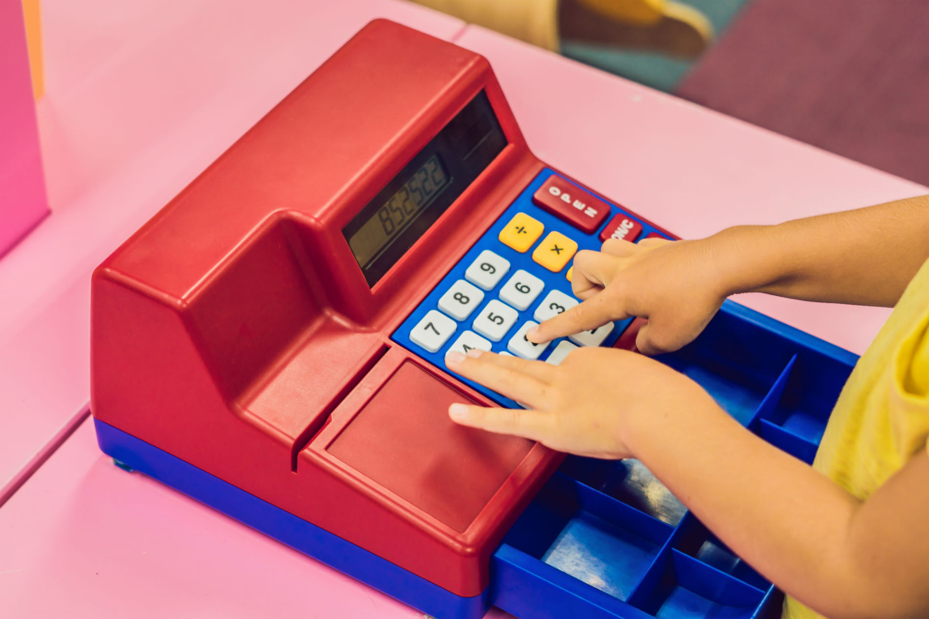 Cha-Ching! These Toy Cash Registers Are Essential for Play Stores