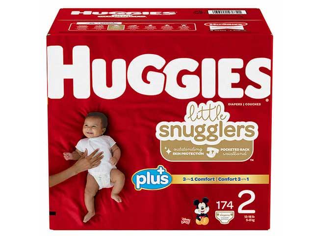 Huggies Plus diapers at costco