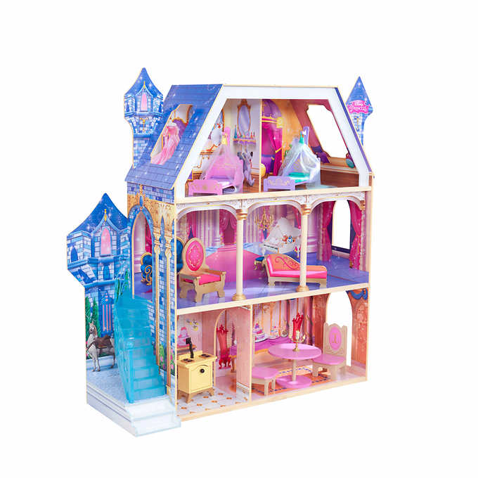 Best Toys From Costco Kidkraft Disney Princess Magnificent Dreams Castle Dollhouse