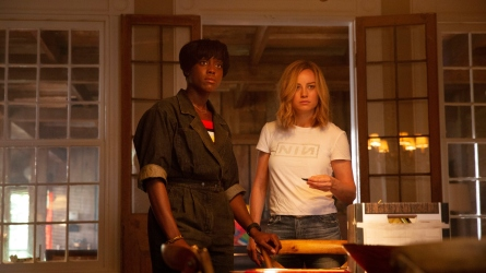 Lashana Lynch, Brie Larson in 'Captain
