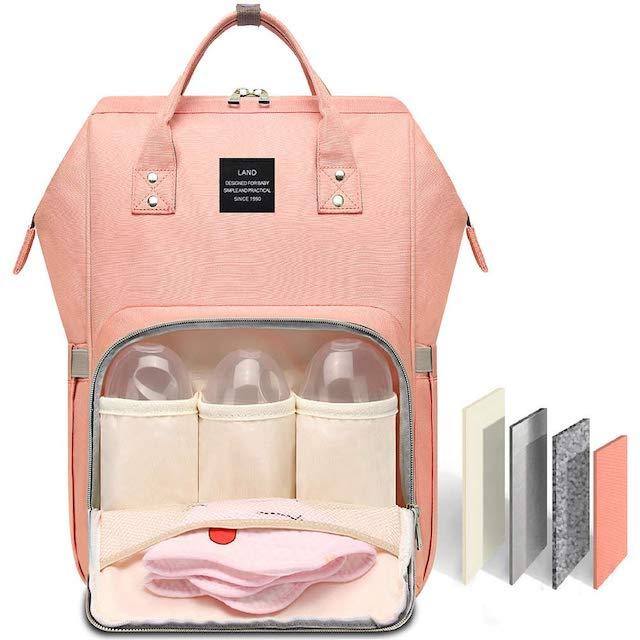 HaloVa Diaper Bag Amazon