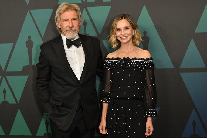 Harrison Ford and Calista FlockhartGovernors Awards, Arrivals, Los Angeles, USA - 18 Nov 2018