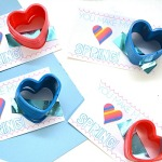 Kids Valentine's Day Cards Slinky cards
