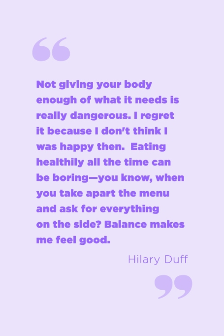 Inspiring Food Attitude Quotes | Find your balance.