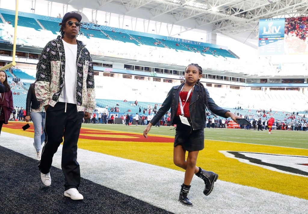 You've Got to See Jay-Z & Blue Ivy's Father-Daughter Photoshoot from Super Bowl 2020.