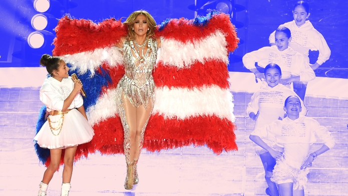 J.Lo Emme Super Bowl 2020 Performance