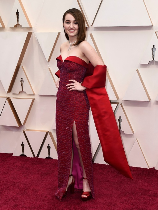 Kaitlyn Dever arrives at the Oscars, at the Dolby Theatre in Los Angeles 92nd Academy Awards - Arrivals, Los Angeles, USA - 09 Feb 2020