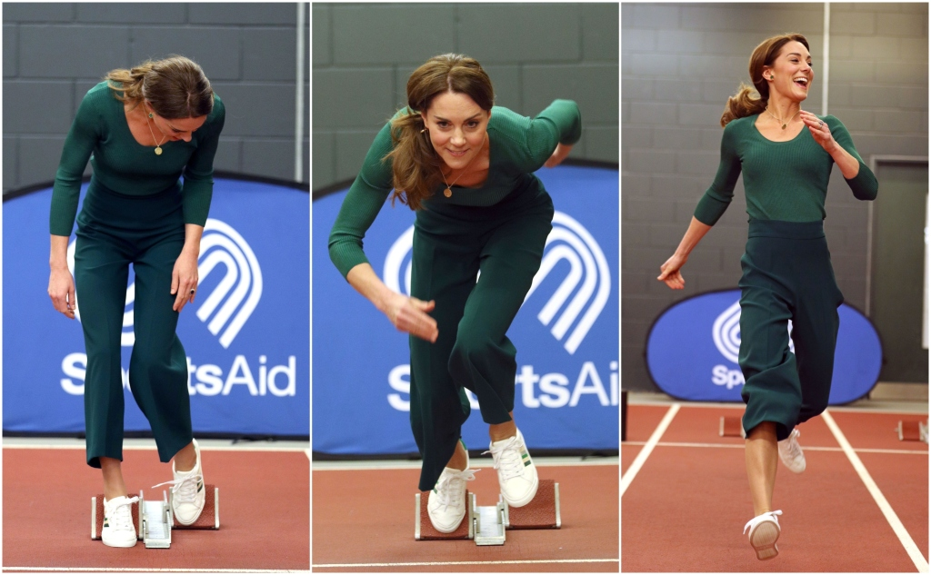 Move Over, Sporty Spice! Kate Middleton Is the Newest Athletic Brit Obsession.