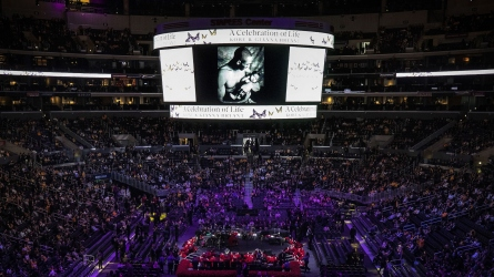 Kobe and Gigi Bryant Memorial Service