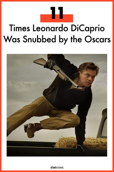 Leonardo DiCaprio Oscar Snubs