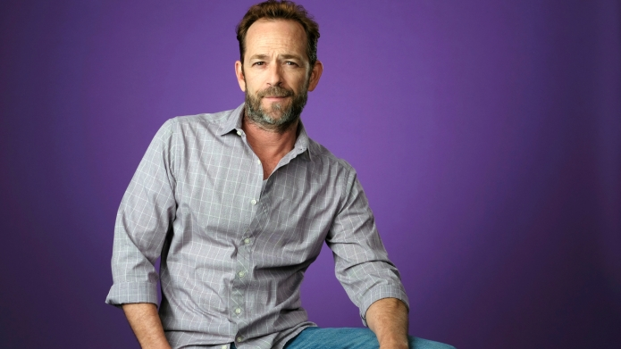 Luke Perry poses for a portrait
