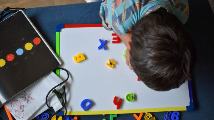 Magnetic Numbers Letters Amazon