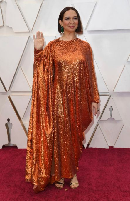 Maya Rudolph arrives at the Oscars, at the Dolby Theatre in Los Angeles92nd Academy Awards - Arrivals, Los Angeles, USA - 09 Feb 2020