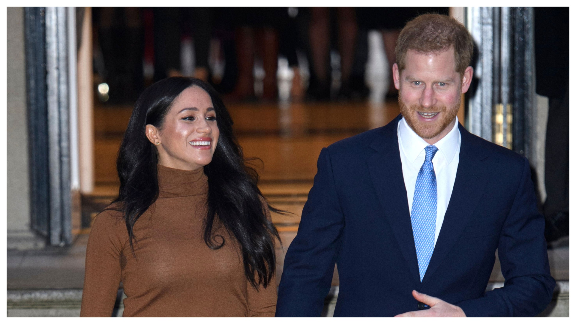 Meghan Markle & Prince Harry Make First Appearance Since Royal Exit