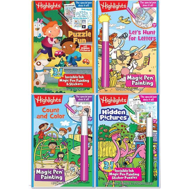 no-mess-magic-marker-activity-books-highlights