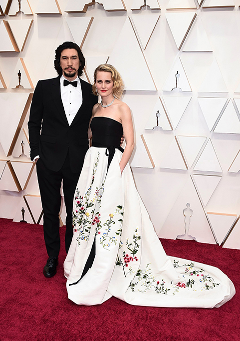 Celebrity Couples 2020: Adam Driver and Joanne Tucker