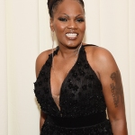 Queen Johnson attends the 28th Annual Elton John AIDS Foundation Academy Awards Viewing Party.