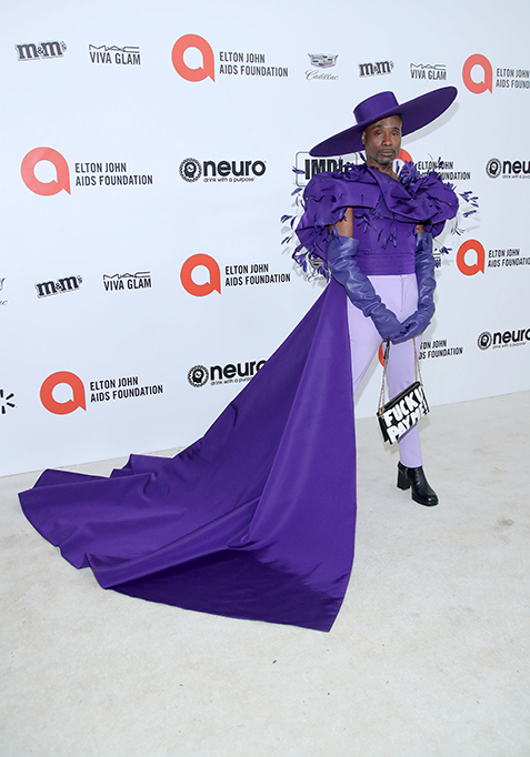 Billy Porter attends the 28th Annual Elton John AIDS Foundation Academy Awards Viewing Party.