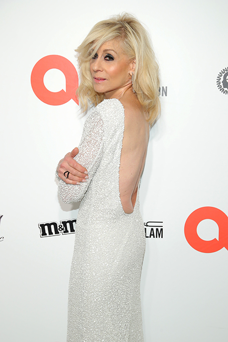 Judith Light attends the 28th Annual Elton John AIDS Foundation Academy Awards Viewing Party.